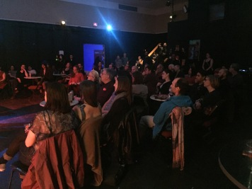 Audience at Lucila Al Mar show