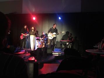 Lucila Al Mar and band